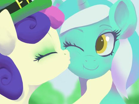 Kiss me I'm Lyrish! by Montano-Fausto