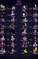 InK Round 1 Roster by Hipster-Coyote