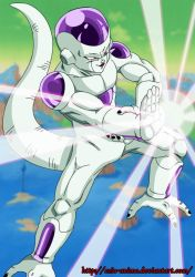 Frieza o freezer - Coloured by Ezio-anime