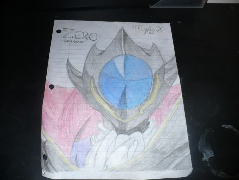 Zero Drawing (Code Geass) by Mystic--X