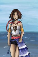 Yuna Final Fantasy X-2 by RevanRayWan
