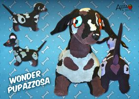Dachshund plush by DemodexPlush