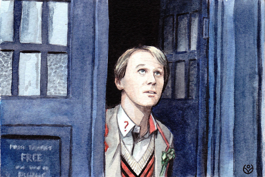 Fifth Doctor by JohannesVIII