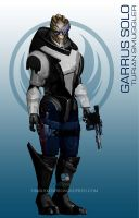 StarWars MassEffect Crossover Garrus Solo by rs2studios