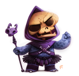 Day 550. Skeletor by Cryptid-Creations