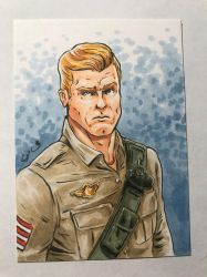 Duke Sketch Card by shaotemp