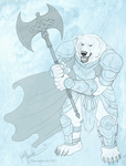 Polar Warrior by Bear-hybrid