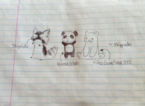 And now we're animals! :D by Videogamefreak2012