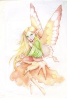 A fairy in soft colors by NataliaFerrino