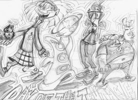 Day of the Tentacle WIP by Stnk13