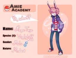 Amie-Academy- Magic by DreamerMB