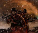 Soldier and Pyro by Detkef