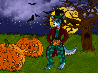 Halloween Gift -colored- by DarkPoetOfRivendell