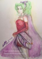 Terra Branford - Watercolor Sketch by rexevabonita
