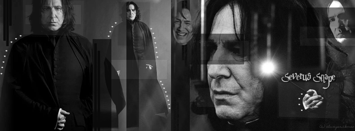 Severus Snape Facebook Banner by OckGal