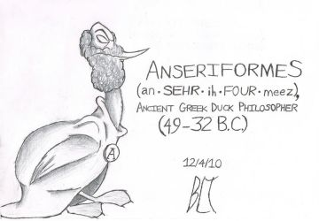 Ancient Duck Philosopher by YouHaveAShortMemory