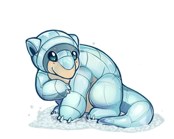 Pokemon - Alola Form Sandshrew!