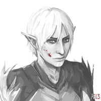 Fenris by driftwoodwolf