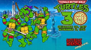 SATURDAY MORNINGS FOREVER: TMNT 30TH ANNIVERSARY by WOLVERINE25TH