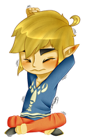 LoZ: Stretch by SkaiChild