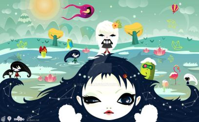 The New Snow Life by archanN