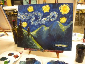 Colorado Starry Night by MissingHorcrux