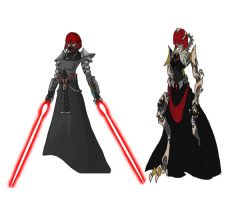 Sith Warrior Concept by alorix