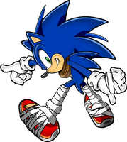 Sonic (Sonic Boom Outfit) by Silverdahedgehog06