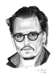 Johnny Depp - SBIFF 2016 by shaman-art