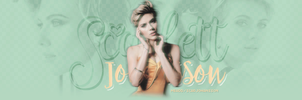 Scarlett Johansson - Header #04 by twnchest