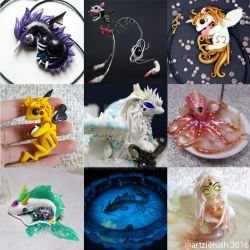 Polymer Clay Creations 2016 by ArtzieRush by ArtzieRush