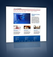 YourTimes Website Template PSD by Martz90