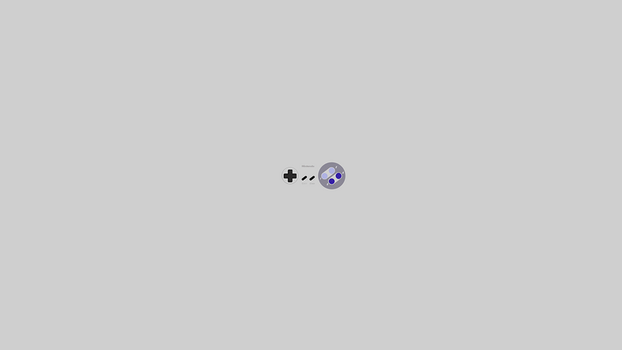 Super Nintendo Minimalist Wallpaper - Game Coll... by JoshMessmer