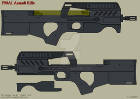 P90A1 Assault Rifle by Wolff60