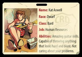 Honorary CRD Member Kat Axwell by Josh-Ulrich