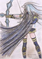Ashe League Of Legends by MistyQue