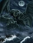 Rise of Chtulhu by ArcosArt
