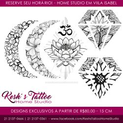 Floral delicated tattoo designs Avaiable 2 by hakesh-chan