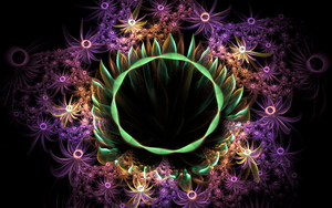 amazing flower earth by Andrea1981G