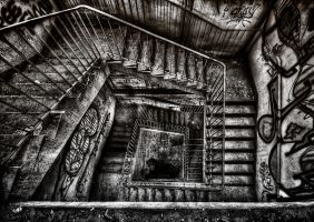 Another Decayed Staircase by Matthias-Haker