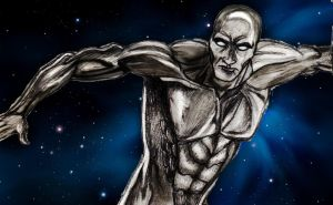 Silver Surfer by Nova-moon