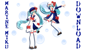 Marine Dream Miku - model DL DOWNLOAD available by HoshichoM