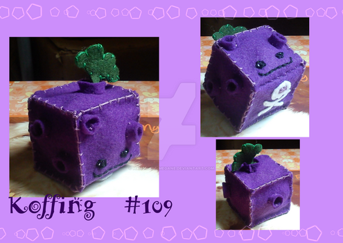 Cube Koffing by Handmade-Megane