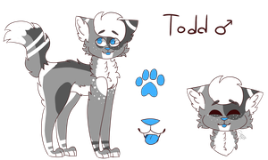 Todd ref by CutieCakie