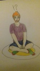 AT with PineTre33: Sitting down by HiryuRein
