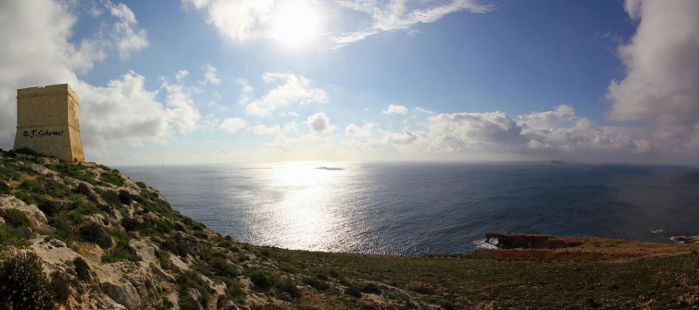 Mediterranean panorama by Sockrattes