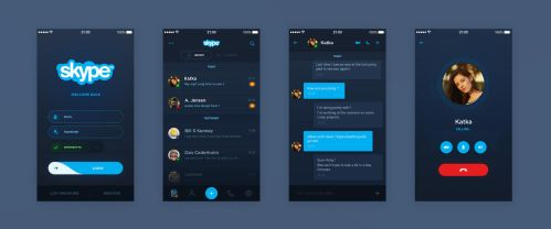 Skype Concept by Crelcreation