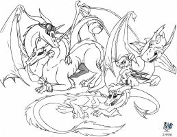 As Dragons by The-Snowlion