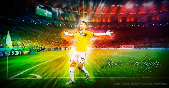 James Rodriguez by madecho