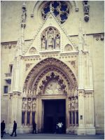 Zagreb Cathedral by SeiMissTake